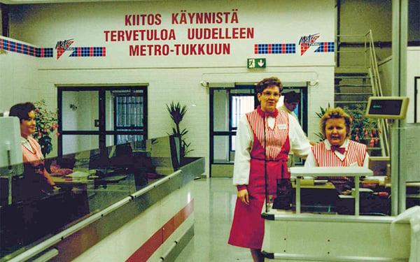 Tampereen Metro pikatukun avajaiset 1991